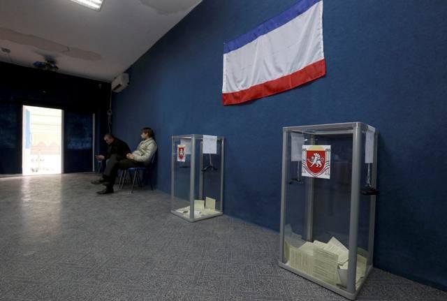 Το 93% στην Κριμαία ψήφισε υπέρ της ένωσης με τη Ρωσία