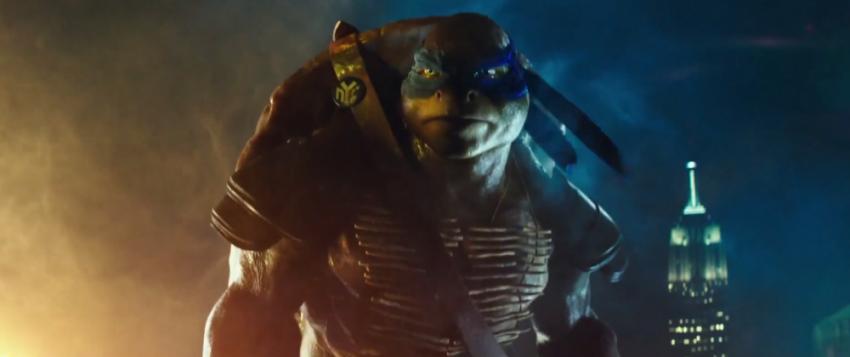 Τα χελωνονιντζάκια έχουν μπλοκμπαστερικό τρέιλερ