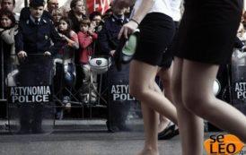 Ξυπόλητη έκανε παρέλαση μαθήτρια στη Θεσσαλονίκη