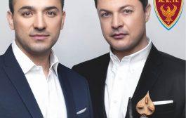 Ο Κωνσταντίνος και ο Ματθαίος Τσαχουρίδης στην Κοζάνη στις 26 Ιουλίου